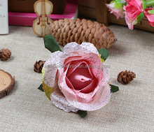 2015 Guangdong old fashioned artificial rose flower head for cloth