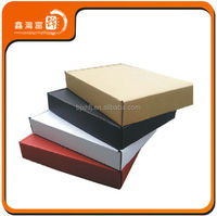 apparel standard corrugated board paper boxes with logo
