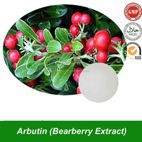 Natural Alpha Arbutin Powder Arbutin(CAS No. 84380-01-8) Bearberry Extract as Cosmetic Whitening Raw Material