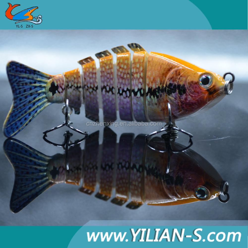 Wholesale hard body bait fishing lures 7 sections big bait for Wholesale fishing bait