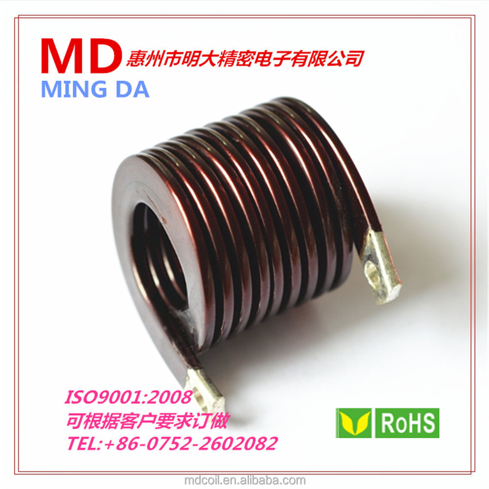 Copper Coil/copper Magnet Wire Coil/ Flat Air Coil - Buy Flat Air ...