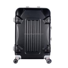 2015 latest aluminum frame ABS suitcase