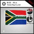 el sur de áfrica bandera del coche