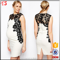China custom made factory wholesale oem product korean style maternity dress