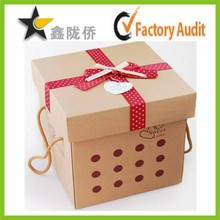 Alibaba Wholesale Drawing Kraft Paper Gift Boxes