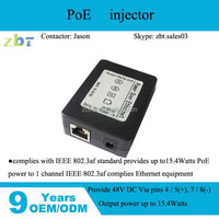 poe adapter for Switch, IP camera, IP phone