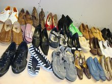 Used shoes and accessories