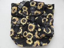 2015 sunflower school bags trendy backpack,fashion teenage girl school bags,.new korean bags