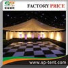 Popular roof top transpartent tent with transpartent PVC windows for outdoor