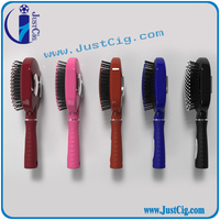 Plastic Classical Wide -Tooth Hair Comb With Five Star Design in Handle