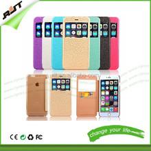 Hottest leather case PU filp leather case cover for iphone 6 4.7,for iphone 6 leather case