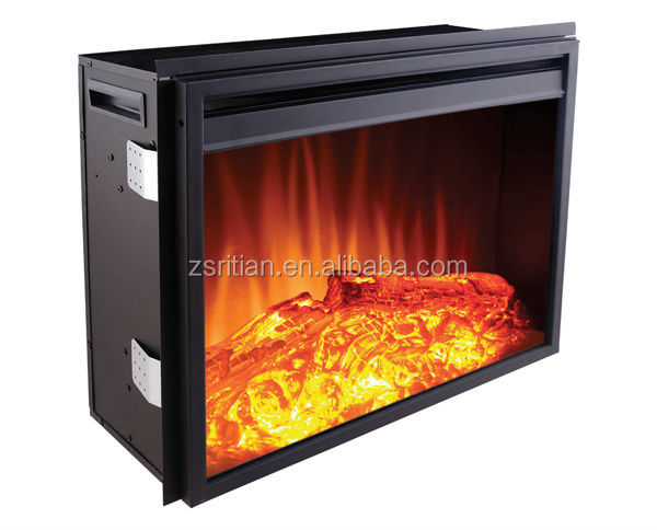 Infrared Electric Fireplace Insert Decor Flame Electric