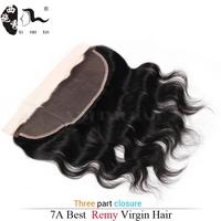 XISHIXIU Hair 2015 New Arrival Body Wave Virgin Brazilian Lace Front Closure, brazilian human hair 13*4lace front closure piece