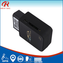 Plug and Play diagnostic SMS tracking obd gps tracker car with rfid