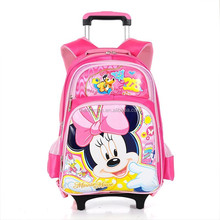 child school bag with wheel