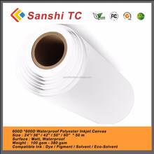 100% Polyester 260gsm Blank Artist Canvas/Wholesale Painting Canvas