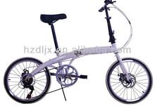 China new design popular 7 speed lightweight cheap folding bikes