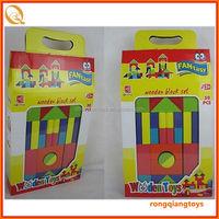 2014 hot sell wholesale educational wooden block toys BK0992391