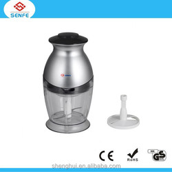 CE, ROHS, LFGB& GS approval mini choppers for sale China supplier