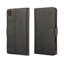 For Sony Xperia Z5 Leather Wallet Flip Stand Cover Case