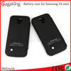 Power case for Samsung s4mini aaa battery ABS+PC 2800mah power bank charger