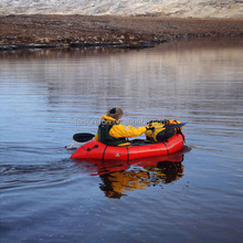 1 person potable inflatable Pack raft, pack rafting