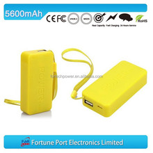 High Quality 5600mah Emergency Travel Bank Power Plus Battery Charger