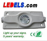 CE/ROHS UL certified powered by Osram led 12V 2.4W led module high power signage led sign lighting module waterproof