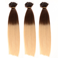Malaysian Remy Human Hair Clip In Extensions Full Set Clip In Hair Extension Malaysian Virgin Hair Straight 10 Pieces Clip on