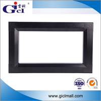 Gicl 4590F best selling aluminum moving message display frame applicable to rgb modules multi line text display