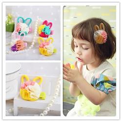 cute ear fashion hair clip accesories three tone human hairpins fair and lovely price cheap tulle fabric