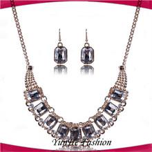 Fashion Retro Gold Uncut journey Diamond Necklace Settings