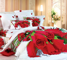 customized 3D cotton woven red flower wedding bridal indian quilts waterproof bedspread