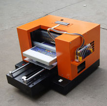 a3 led uv printer for any hard materials, acrylic, rubber, plastics with water cooling system