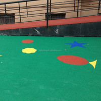 EPDM Granules Artificial Grass Infilled,rubber bands sport, playground rubber chip, Fn-1403257