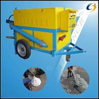 Reliable manufacturer construction equipment foam concrete mixer pump for sale