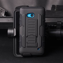2015 Newest Future armor holster phone Cases For Microsoft Nokia Lumia 640 case with stand,For Lumia 640 cover case