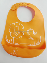 silicone baby bibs with attactive printing