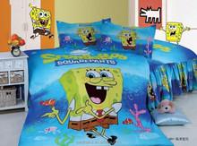 fashion style cartoon plaid twin queen size single 4pcs bedding bed sheet set bedclothes duvet cover set bedding set