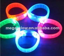 Wholesale led flashing bracelet, LED bracelet, sound activated Led bracelet