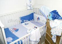 2013 latest boy loved design baby bedding set