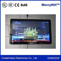"""Shopping Mall Touch Screen 7/10/12/15/17/19/22 Inch 20"""" Flexible Transparent LCD Advertising Display"""