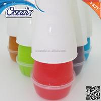 Hot sale 212g gel air freshener toilet