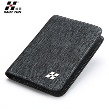 Excellent workmanship genuine leather branded wallet