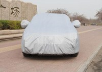 Factory OEM high quality folding silver PEVA S M L XL XXL sun car cover