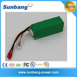 good quality high discharge rate 10C 12v 20000mah rc lipo battery