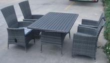 Ck0124 ao ar livre moderna conjunto de sala de jantar