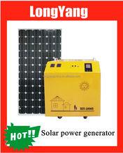 Solar electricity generator system for home 1500W solar power generator