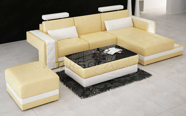 Two Sided Leather Sofa Two Color Sofa H2211d Buy Two