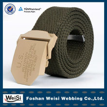 Belt Factory Water-Proofing Mens Canvas Waist Belt With Cheap Price